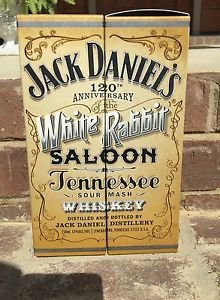 JACK DANIELS Discontinued Limited Edition 120th Anniversary Gift Box- Pair