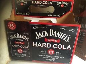 JACK Daniels Discontinued Hard Cola Premium Malt Beverage Carrier Only