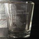 JACK DANIELS Discontinued 2008 Germany Championship Bbq Collectors Shot Glass
