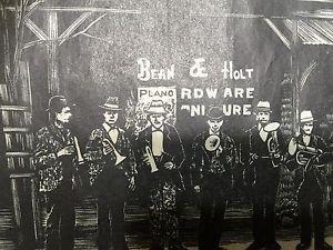 Jack Daniels Vintage Dan Quest Print - The Silver Cornet Band - Rare Re-strike