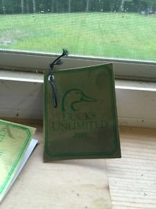 Jack Daniels Limited Edition Discontinued 2010 Ducks Unlimited Gift Tag