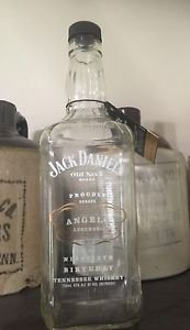 Jack Daniels Discontinued Angelo Lucchessi Tribute Birthday Bottle Empty