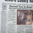 Jack Daniels In The Moore County News Lynchburg, Tennessee 37352