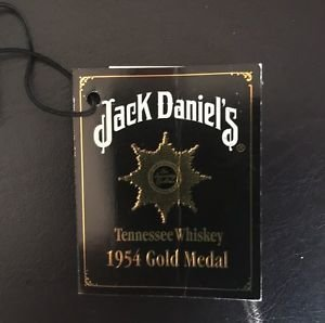 Jack Daniels Limited Edition Discontinued 1954 Gold Medal Gift Tag Registration
