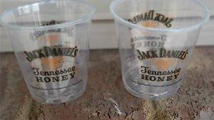 JACK DANIELS DISTILLERY TENNESSEE HONEY PLASTIC SAMPLE CUPS
