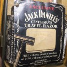 Jack Daniels Limited Edition Discontinued Razor Set Bottle Gift Tag - Rough