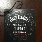 Jack Daniels Limited Edition Discontinued 160th Birthday Bottle Booklet