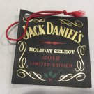 JACK Daniels Limited Edition 2012 Holiday Select Bottle Tag