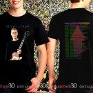 Brian Adams Get Up World Tour 2017 Black Concert T Shirt Size S,M,L,XL,2XL,3XL Tee