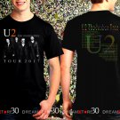 U2 The Joshua Tree Tour Dates 2017 Black Concert T Shirt Size S,M,L,XL,2XL,3XL