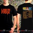 Linkin Park One More Light Tour Dates 2017 Black Concert T Shirt Size S,M,L,XL,2XL,3XL