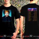 Ed Sheeran Divide Tour Dates 2017 Black Concert T Shirt Size S to 3XL ES1