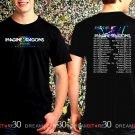 Imagine Dragons Evolve Tour 2017 Black Concert T Shirt Size S to 3XL Tee ID1.2