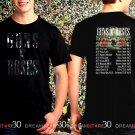 Guns N Roses World Tour 2017 Black Concert T Shirt Size S to 3XL Tee GNR2