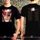 Lady Gaga Joanne Tour 2017 Black Concert T Shirt Size S to 3XL Tee LG2
