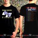 Enrique Inglesias and Pitbull Tour 2017 Black Concert T Shirt Size S to 3XL Tee E2