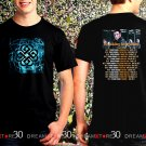 Breaking Benjamin Tour 2018 Black Concert T Shirt Size S to 3XL BB9