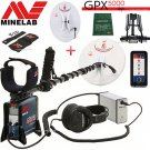 MINELAB GPX 5000 GOLD PROSPECTING DETECTOR With 2 SEARCH COILS