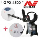 MINELAB GPX 4500 GOLD PROSPECTING Metal Detector With ** 2 COILS, PRO-SWING & HP