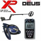 """XP DEUS WIRELESS Metal Detector With  REMOTE + 9"""" COIL + FX02 WIRED HEADPHONES"""