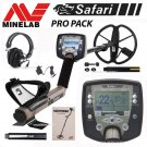 MINELAB SAFARI METAL DETECTOR PRO PACK SPECIAL With FREE SHIPPING !