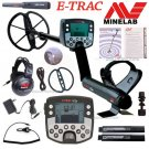 """Minelab E-TRAC Metal Detector With 11"""" DD COIL And PRO-FIND 25 PINPOINTER"""