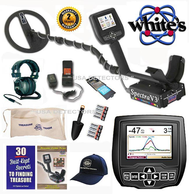 WHITES SPECTRA V3i With HEADPHONES & FREE ACCESSORIES