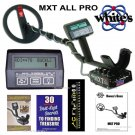 NEW White's MXT ALL PRO Metal Detector With 2 YEAR WARRANTY