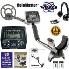 "WHITES COINMASTER METAL DETECTOR With 9"" COIL & HEADPHONES"