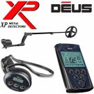 "XP DEUS WIRELESS Metal Detector With 11"" COIL, REMOTE, WS4, & BACKPHONE HEADPHONES"