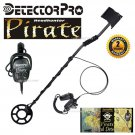 "DetectorPro Headhunter PIRATE Metal Detector With 8"" Searchcoil"