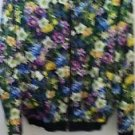 Nordstrom Top Shop Women's Floral Jacket Medium Size 100% Cotton Lining Acetate