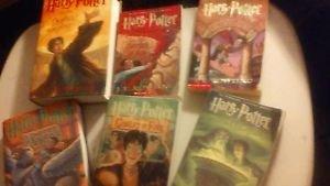 Harry Potter Lot 3 Hardback 4 Paperback Book 1, 2, 3, 4, 5, 6, 7 Goblet Azakaban