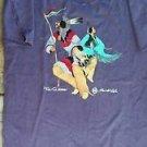 Vintage Native American Indian T-Shirt 1998/Chippewa/Purple/XL/100% Cotton