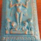 "Isis Blue Trinket Jewelry Box 5"" x 3"" x 2"" Terra Cotta"