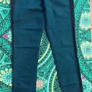 American Eagle Outfitters Super Stretch Skinny Jeans Green Tuxedo Stripe Pants 4