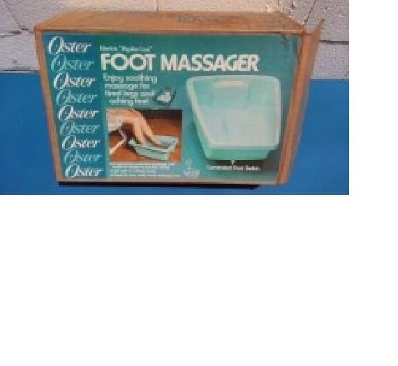 """Vintage Spa Bath Electric Oster """"Hydro-lax"""" Foot/Leg Massager Water or Waterless"""