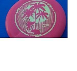 Vintage Hawaii Orange/Yellow Frisbee Wham-O Toy Disc