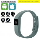 Grey Smart Watch Fitness Activity Tracker Smartband Bluetooth IOS ANDROID