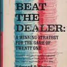Beat the Dealer: A Winning Strategy for the Game of Twenty One Thorp 1962