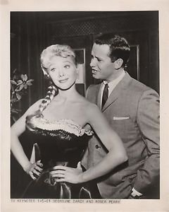 Roger Perry/Georgine Darcy/1961 Photo Release 8 x 10/TV/Harrington & Son