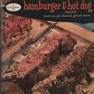 Good Housekeeping's Hamburger & Hot Dog Book Novel Users for America's Favorite