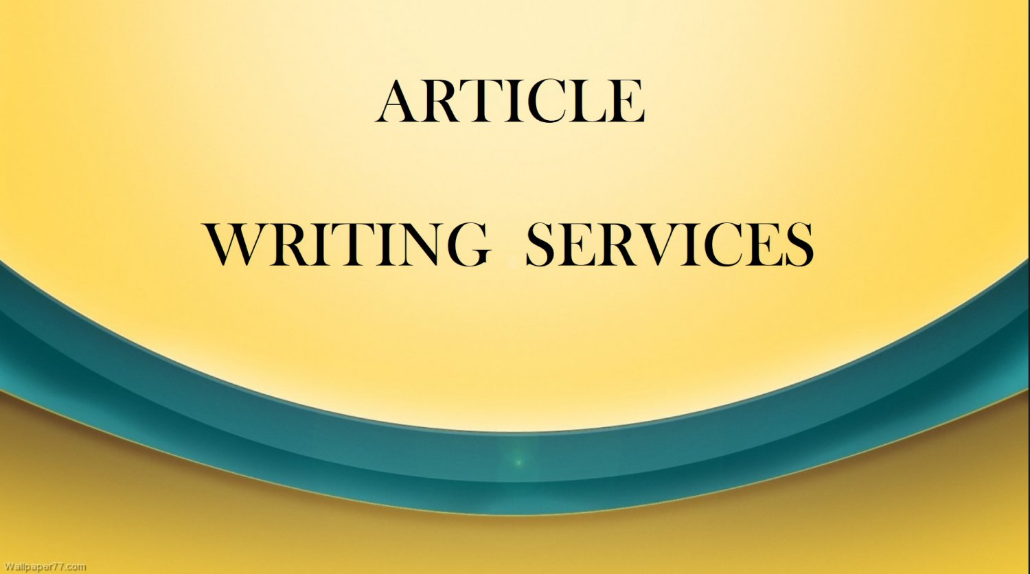 Article Writing Service 200 Words