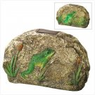 New!  Magical Motion Frog Garden Stone
