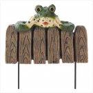 Frog Mini Garden Fence