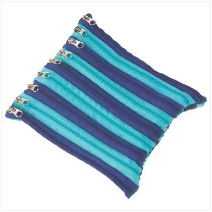Aqua Blue Zipper Pouch