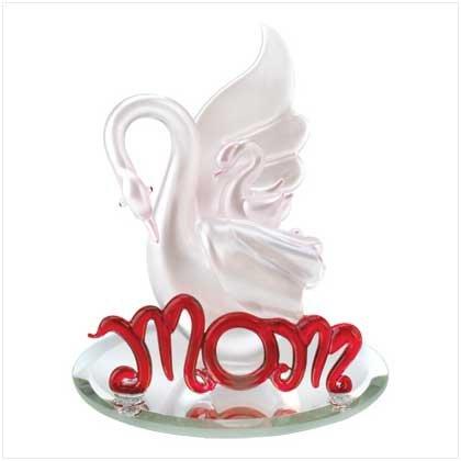 Mother Swan Figurine
