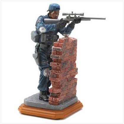 Police Perfect Position Figurine