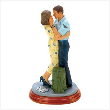 Shipping Out Air Force Figurine