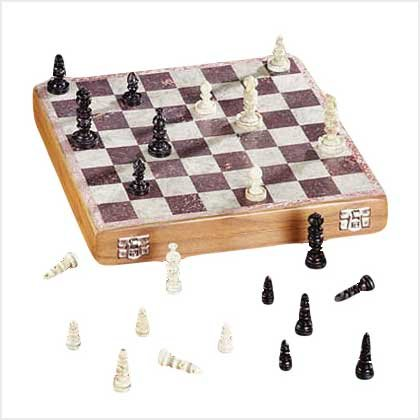 Soapstone Carved Chess Set